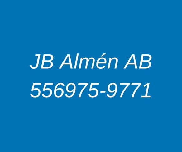 JB Almén AB